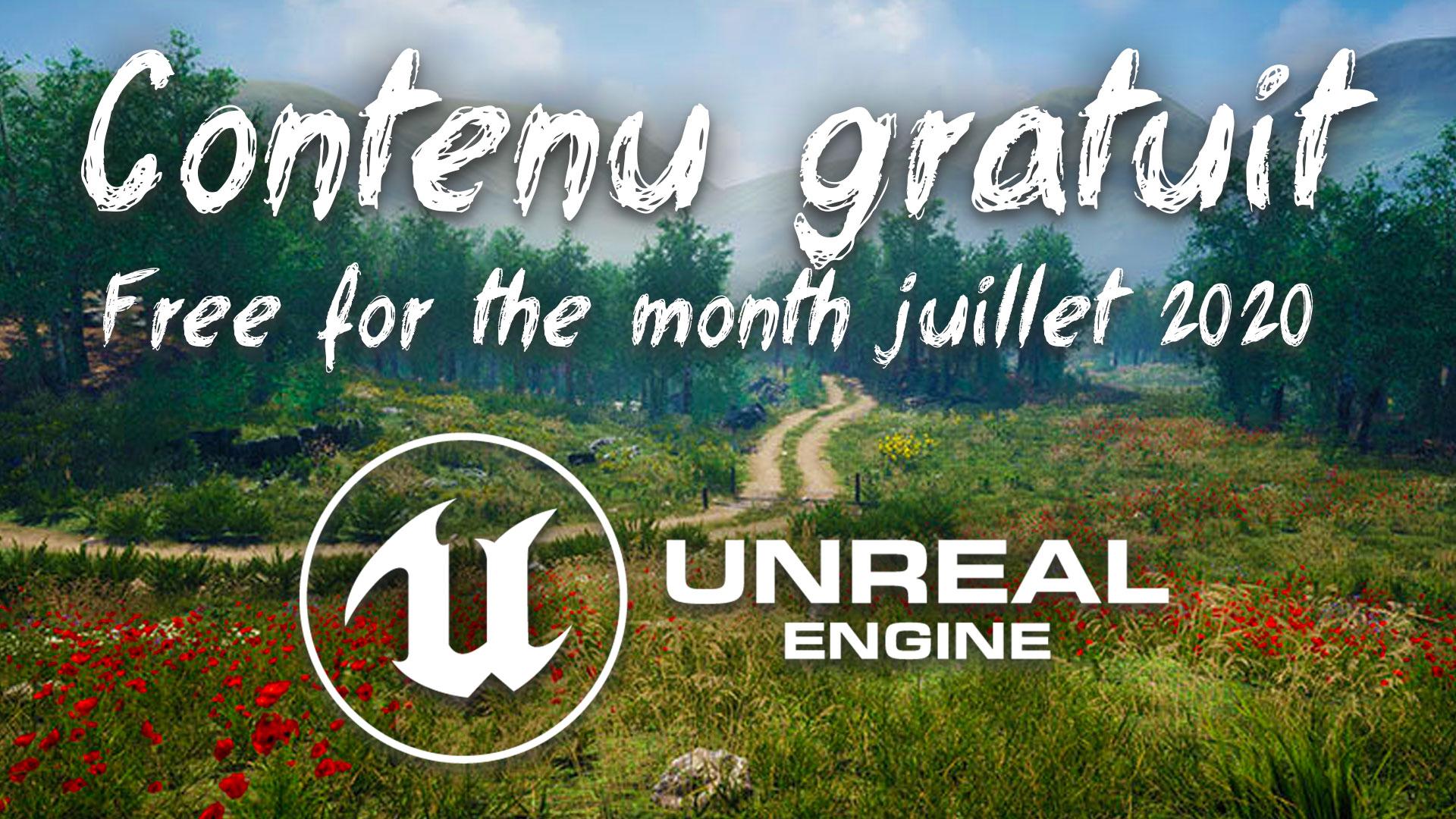 Free for the month : le contenu gratuit pour Unreal Engine, juillet 2020